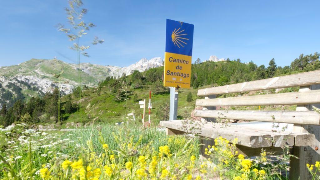 Jakobsweg Länge Camino Aragones, Jakobsweg Spanien
