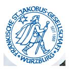 Jakobsweg Pilgerausweis Würzburg