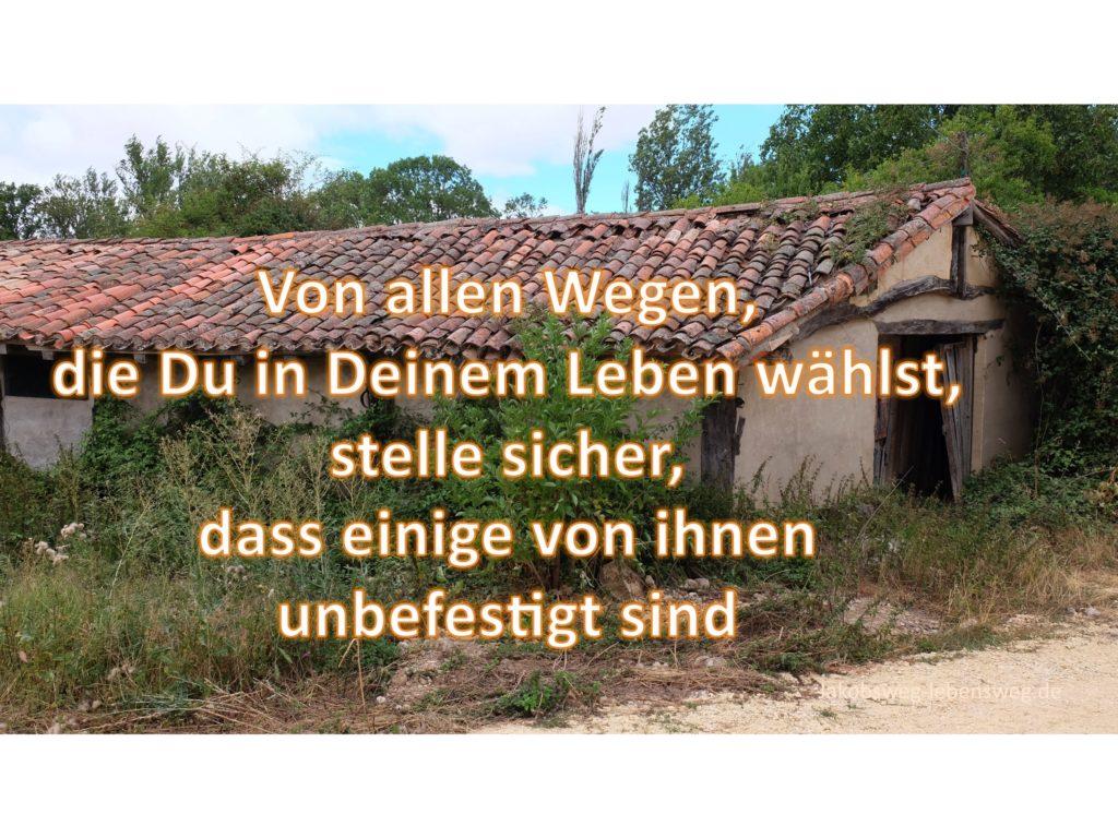 Von allen Wegen - Jakobsweg-lebensweg.de