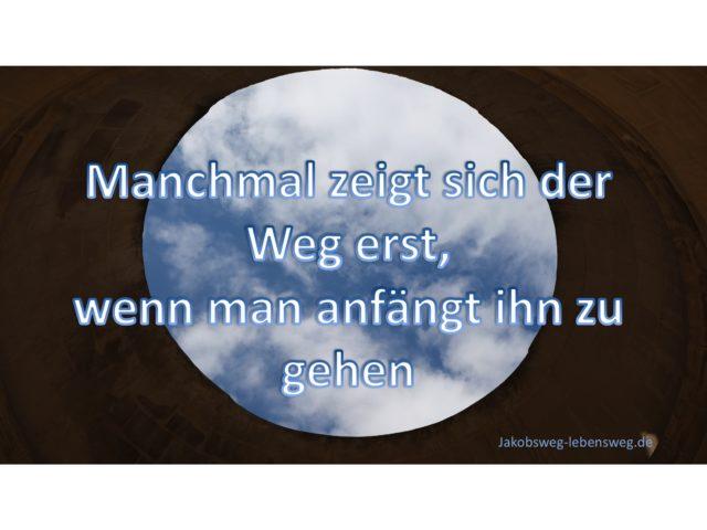 die Magie des Weges manchmal zeigt sich - jakobsweg-lebensweg.de