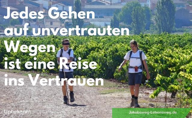 Jakobsweg Zitate: Jedes gehen