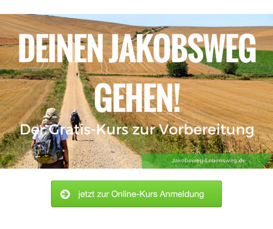 Jakobsweg gehen Online Kurs