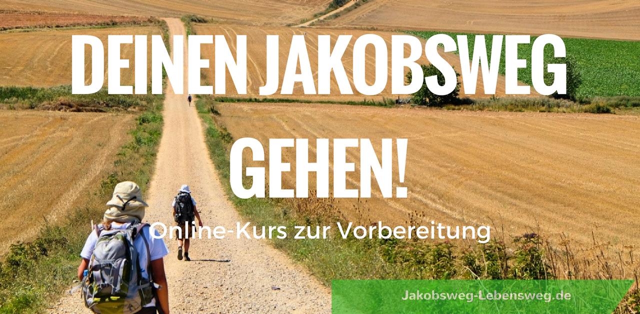 Jakobsweg Route; Online Kurs-Vorbereitung