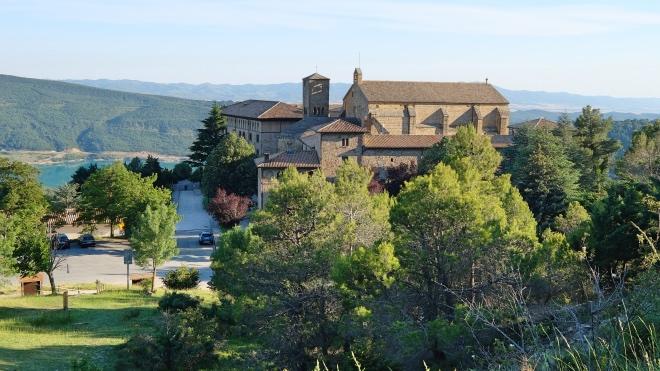 Camino Aragones Monasterio Leyre