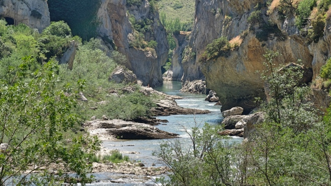 Camino Aragones Foz Lumbier