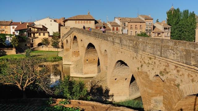 Camino Aragones Puente la Reina