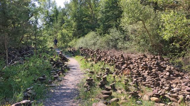 Camino Frances Steinmännchen