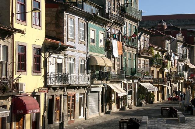 Camino Portugues Porto Altstadt