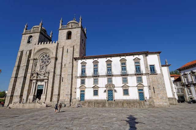 Camino Portugues Porto Kathedrale