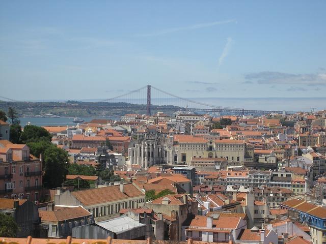 Camino Portugues Lissabon Aussicht