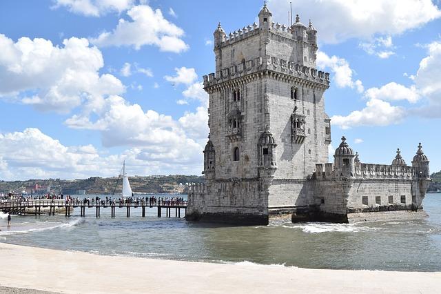 Camino Portugues Lissabon Torre Belem