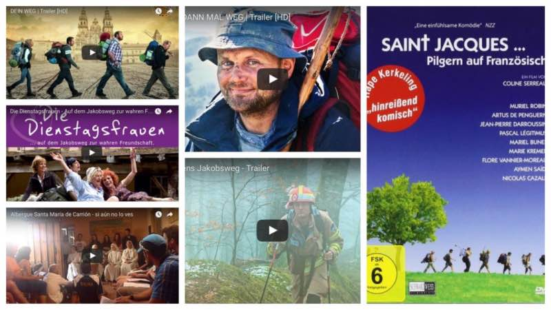 Collage-Jakobsweg-Film-Tipps