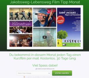 Buen Camino Club Filmtipp-Anmeldung