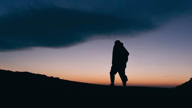 Wanderer Trauer verarbeiten