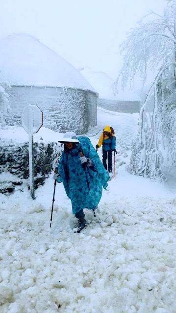 Jakobsweg im Winter Kleidung
