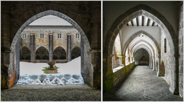 winter monastery-roncesvalles