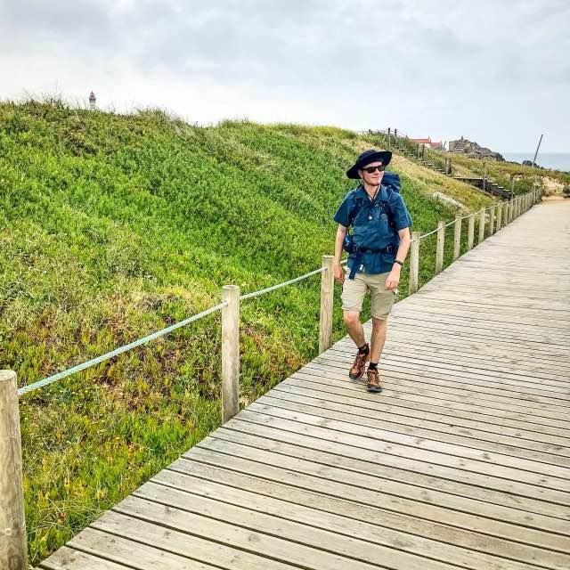 Holzpfad Camino Portugues