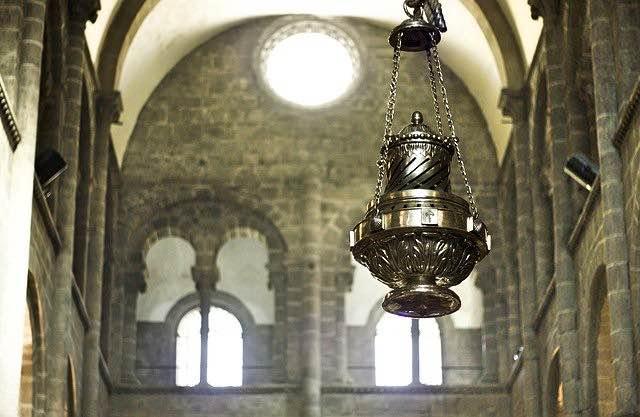 Kathedrale Santiago de Compostela Botafumeiro