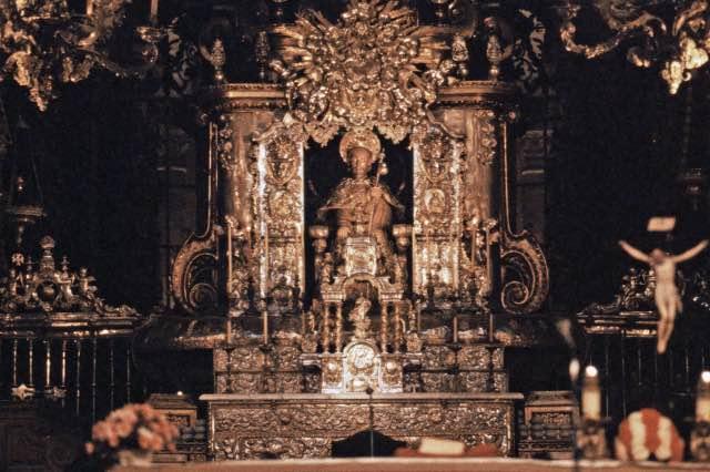 Kathedrale von Santiago de Compostela Hauptaltar