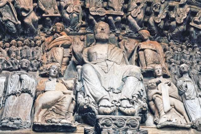 Kathedrale von Santiago de Compostela Porta de Gloria