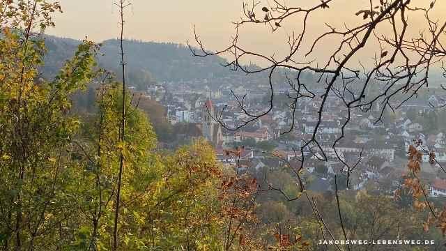 Weinheim Nordbadischer Jakobsweg