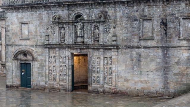 Heilige Pforte im Heiligen Jahr Xacobeo 21 geöffnet