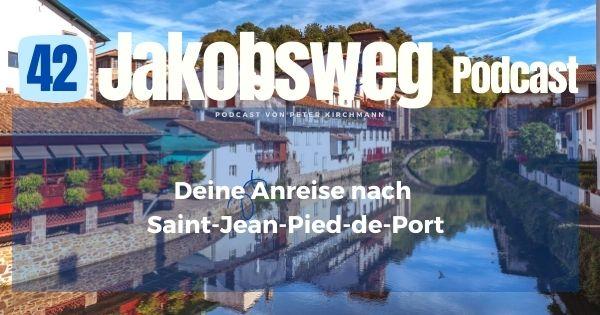 Anreise Saint-Jean-Pied-de-Port