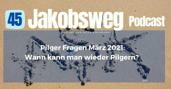 Pilgerfragen März 2021