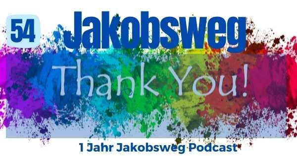 Danke Jakobsweg