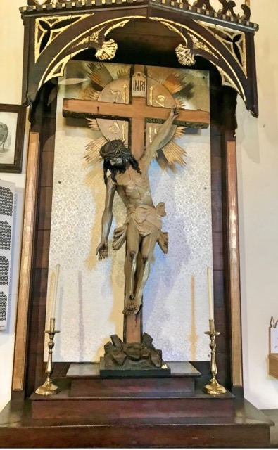 Furelos Christus Pilger Hand