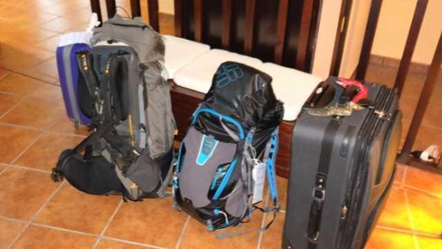 Jakobsweg Packliste Gepäcktransport