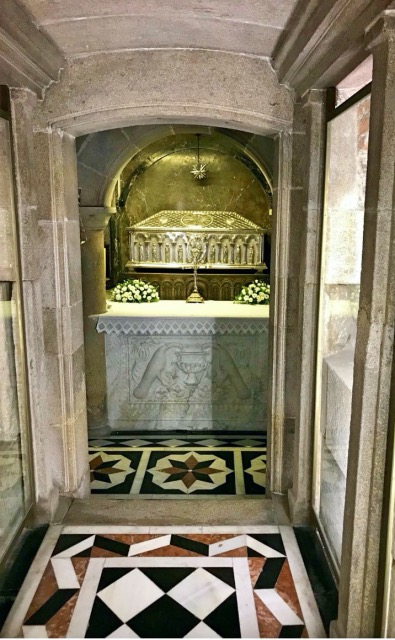 Krypta des Heiligen Jakobus Santiago