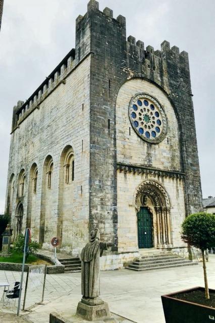 Wehrkirche Portomarin